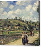 Landscape Near Pontoise Acrylic Print