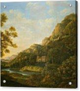 Landscape Painter Acrylic Print