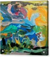 Landscape Palette Acrylic Print
