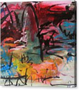 Landscape Sketch27 Acrylic Print