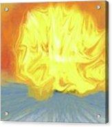 Landscape Sunrise Acrylic Print