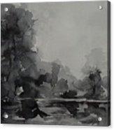Landscape Value Study Acrylic Print