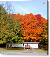 Landscape View Of Mobile Home 2 Acrylic Print