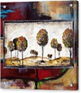Landscape Vignettes-3 Acrylic Print