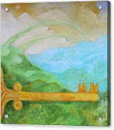 Landscape With A Key Acrylic Print