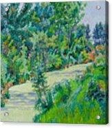 Landscape With Duckweed Acrylic Print
