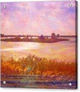 Landscape With Island 008 01 01 2016 Acrylic Print