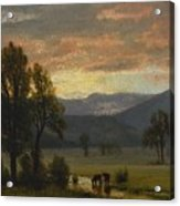 Landscape_with_cattle Acrylic Print