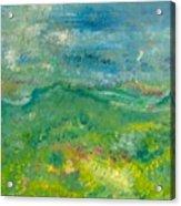 Landschaft bei Arles Acrylic Print