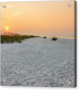Langdon Beach Sunrise 5 - Pensacola Beach Florida Acrylic Print