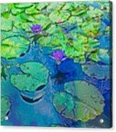 Languid Lagoon Acrylic Print