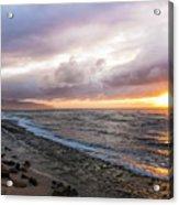 Laniakea Beach Sunset Acrylic Print