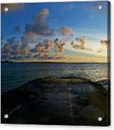 Lanikai At Sunrise Acrylic Print