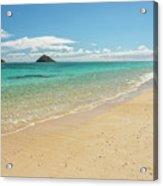 Lanikai Beach 4 - Oahu Hawaii Acrylic Print