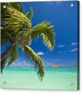Lanikai Seascape Acrylic Print