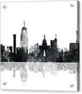 Lansing Michigan Skylines Acrylic Print