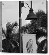 Lantana Lamp Post Acrylic Print