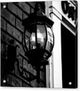 Lantern Black And White Acrylic Print