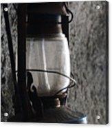 Lantern Blue Acrylic Print