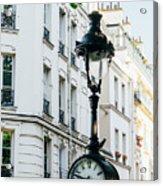 Lantern Clock Acrylic Print