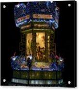 Lantern In The Dark Acrylic Print
