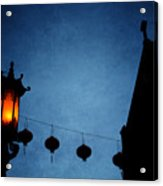 Lanterns- Art By Linda Woods Acrylic Print