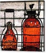 Lanterns Still Life Acrylic Print