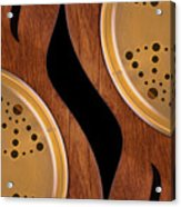 Lap Guitars        Acrylic Print by Mike McGlothlen