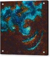 Lapis Lazuli Nebula  Acrylic Print