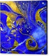 Lapis Lazuli Acrylic Print