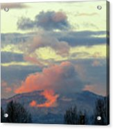 Wyoming Sunsets 1 Acrylic Print