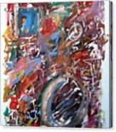 Large Abstract No. 6 Acrylic Print