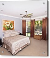 Large Bedroom Acrylic Print