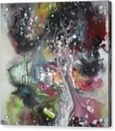 Large Color Fever Abstract25-original Abstract Painting Acrylic Print