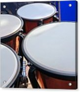 Large Copper Kettledrums Acrylic Print