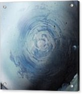Large Earth Storm Acrylic Print