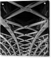 Large Girder Bridge Acrylic Print