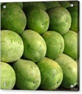 Large Heavy  Watermelons Acrylic Print