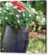 Large Vase Acrylic Print