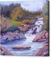 Larsen Falls Acrylic Print