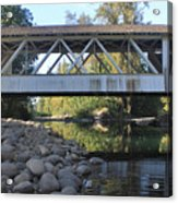 Larwood Bridge Acrylic Print