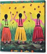 Las Monarcas Acrylic Print