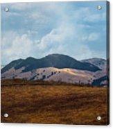 Las Trampas Hills Acrylic Print
