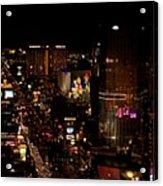 Las Vegas Strip II Acrylic Print