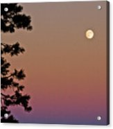 Lassen Sunset Acrylic Print