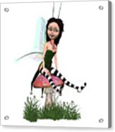 Lassnis The Forest Fairy Acrylic Print