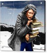 Last Books Of Knowledge Acrylic Print