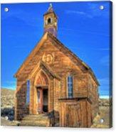 Last Church Standing Acrylic Print