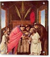 Last Communion Of St Jerome Acrylic Print