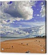 Last Day At The Beach Acrylic Print